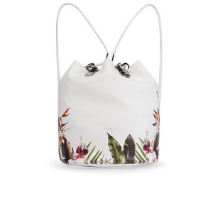 Fiorelli Women's Callie Drawstring Backpack - Tropical Border Print