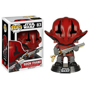 Figura Pop! Vinyl Bobble Head Sidon Ithano - Star Wars: Episodio VII