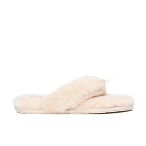 UGG Women's Fluff Flip Flop II Slippers - Natural