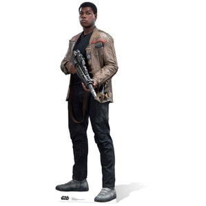 Star Wars The Force Awakens Finn Life Size Cut Out