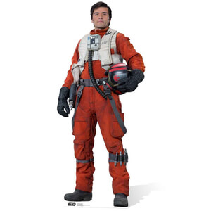 Star Wars The Force Awakens Poe Dameron Life Size Cut Out