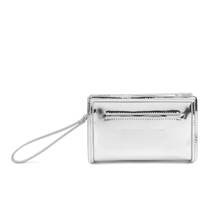 McQ Alexander McQueen Women's Addicted Cell Phone Bag - Silver
