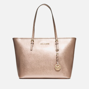 MICHAEL MICHAEL KORS Women's Jet Set Travel Top Zip Tote Bag - Pale Gold