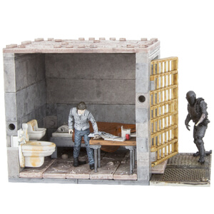 Ensemble Cellule de Prison Basse -McFarlane -The Walking Dead