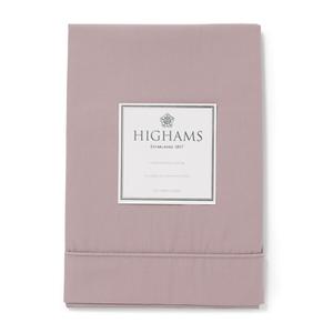 Highams 100% Egyptian Cotton Pillowcase - Vintage Pink