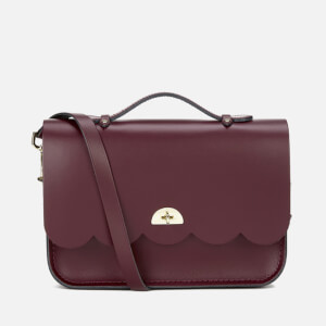 The Cambridge Satchel Company Women's Cloud Bag with Handle - Oxblood