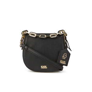 Karl Lagerfeld Women's K/Grainy Satchel Bag - Black