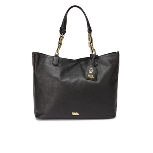 Karl Lagerfeld Women's K/Grainy Hobo Bag - Black