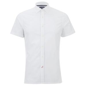 Tommy Hilfiger Men's Byram Short Sleeve Shirt - Classic White