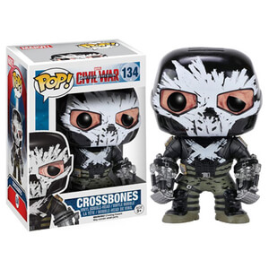 Marvel Captain America Civil War Crossbones Funko Pop! Figuur