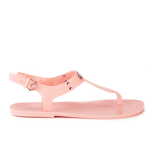 MICHAEL MICHAEL KORS Women's MK Plate Jelly Sandals - Pale Pink