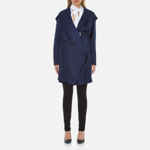 BOSS Orange Women's Odrapa Jacket - Dark Blue