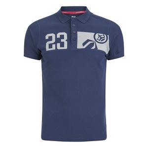 Crosshatch Men's Matrix Two Polo Shirt - Insignia Blue