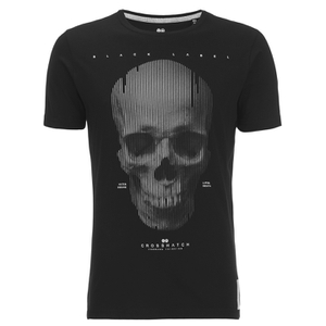 Crosshatch Men's Cerebrum T-Shirt - Black
