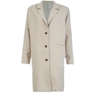 Selected Femme Women's Tanja Coat - Silver Cloud