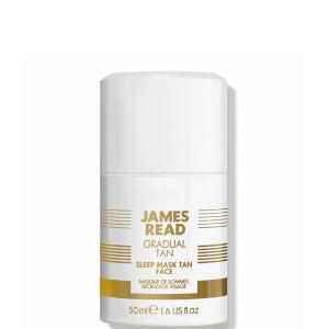 Mascarilla facial autobronceadoraSleep Mask Tan Face de James Read 50 ml