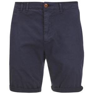 Scotch & Soda Men's Twill Chino Shorts - Navy