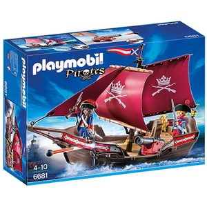 Playmobil Pirates: Soldatenzeilschip met kanonnen (6681)