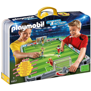 Playmobil Sports & Action: Meeneem voetbalstadion (6857)