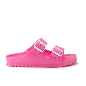 Birkenstock Women's Arizona Slim Fit Eva Double Strap Sandals - Neon Pink