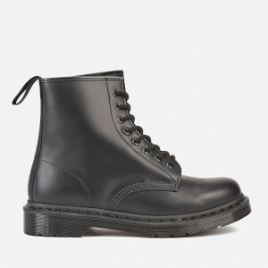 Dr. Martens 1460 Mono Smooth Leather 8-Eye Boots - Black