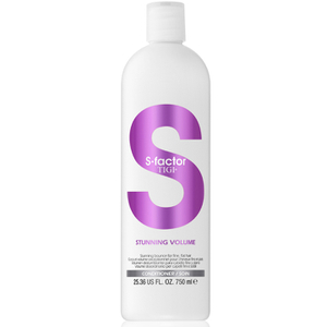 Acondicionador S-Factor Stunning Volume de TIGI 750 ml