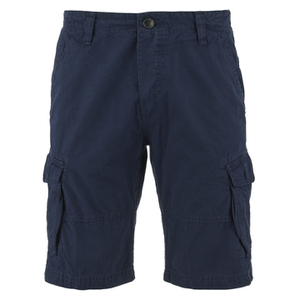 Threadbare Men's Hulk Cargo Shorts - Deep Blue
