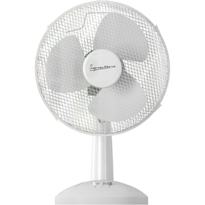 Signature S116N Desk Fan - White - 12 Inch