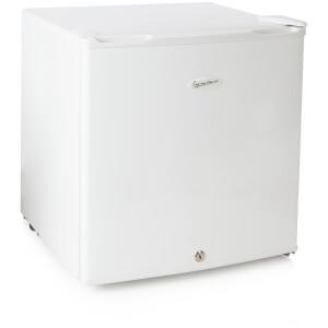 Signature S30005 Lockable Compact Fridge - White - 50L