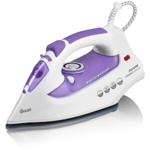 Swan SI10010N Steam Iron - Purple - 2600W