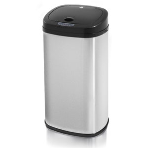 Swan SWKA4200MSN Square Sensor Bin - Brushed Stainless Steel - 42L