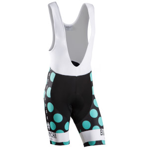 Bianchi Men's Victory Bib Shorts - Black/Green