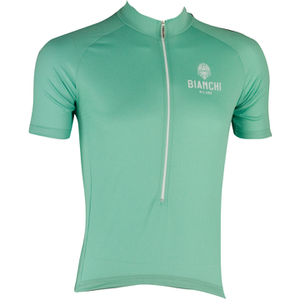 Bianchi Men's Edoardo Short Sleeve Jersey - Green