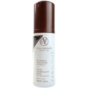 Vita Liberata Fabulous Self Tanning Tinted Mousse -itseruskettava vaahto, 100ml, Medium