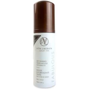 Vita Liberata Fabulous Self Tanning Tinted Mousse -itseruskettava vaahto, 100ml, Dark