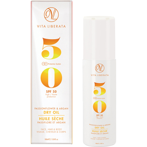 Vita Liberata Passionflower & Argan Dry Oil SPF 50 100 ml