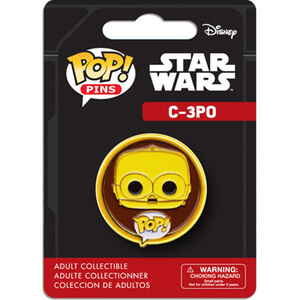 Badge Pop! Pin C-3PO Star Wars