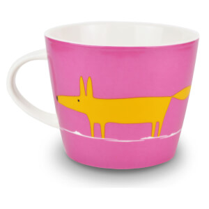 Scion Mr Fox Mug - Pink/Orange