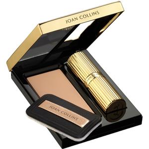 Joan Collins Compact Duo Lipstick & Powder - Lady