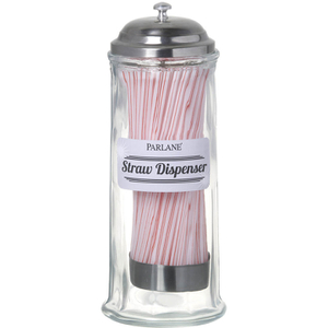 Parlane Retro Straw Dispenser