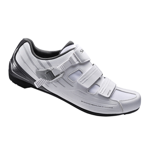 Shimano RP300 SPD-SL Cycling Shoes Wide Fit - White