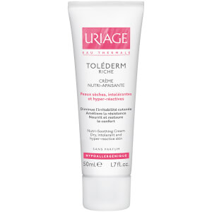 Uriage Toléderm Nutri-Soothing Cream for Sensitive/Intollerant Very Dry Skin (50ml)