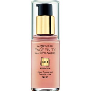 Max Factor Facefinity tre-i-en Foundation (ulike nyanser)