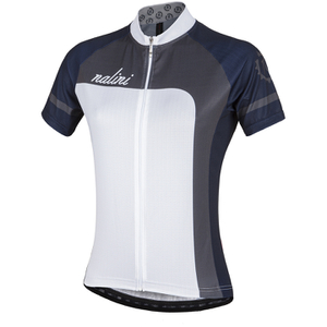 Nalini Women's Campionessa Short Sleeve Jersey - White/Grey