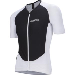 Nalini Xrace Logo Ti Short Sleeve Jersey - White/Black