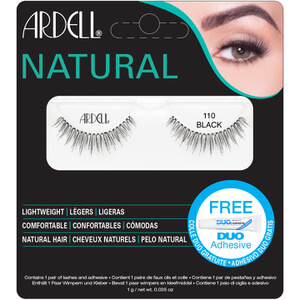 Ardell Natural Lashes 110, Schwarz