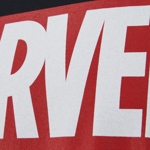 Marvel Comics Men's Core Logo T-Shirt - Black: Image 4