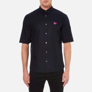 McQ Alexander McQueen Men's Short Sleeve Sheehan Shirt - Ink