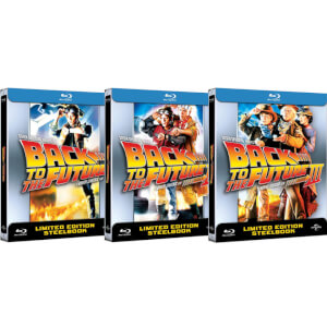 Back to the Future Complete Collection – Limited Edition Steelbooks (UK EDITION)