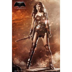 DC Comics Batman v Superman Dawn of Justice Wonder Woman - 24 x 36 Inches Maxi Poster